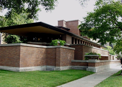 Robie House, Chicago - F. L. Wright